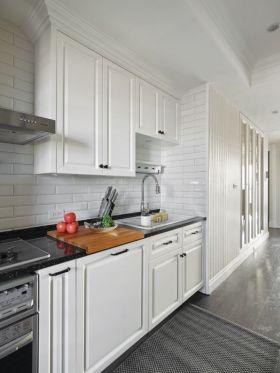 简欧白色简约厨房图片欣赏