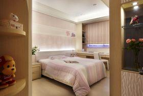 粉色现代卧室图片欣赏
