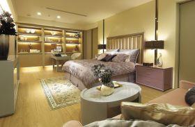新古典雅韵黄色卧室装饰图