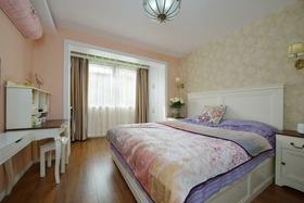 浪漫舒适粉色简欧风格卧室设计