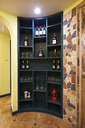 大气雅致美式复古酒柜赏析