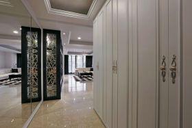 典雅简欧风格白色过道装潢设计