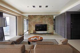 现代风格大气米色背景墙效果图欣赏