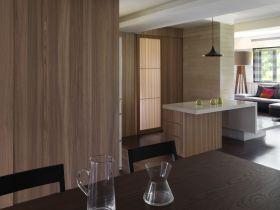 美式风格客厅隔断设计装潢