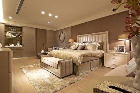 欧式浪漫黄色卧室欣赏