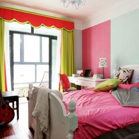 粉色混搭卧室美图欣赏