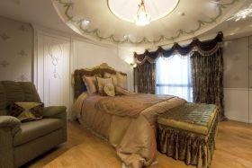 奢华欧式风格卧室装修美图