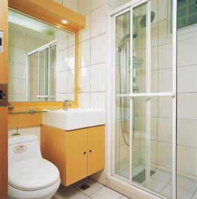 橙色2016现代风格卫生间设计图片