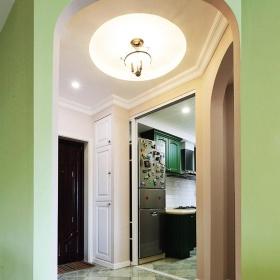 美式风格绿色玄关效果图赏析