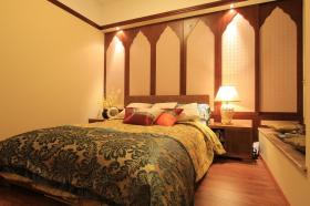 2016东南亚风格卧室装修效果图片