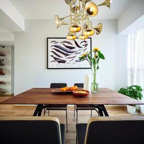 精致创意时尚现代餐厅设计吊顶装潢