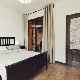 素雅个性时尚美式简约风格卧室衣柜设计