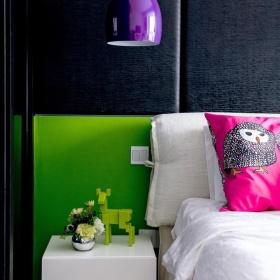 创意多彩混搭风格卧室装修效果图片