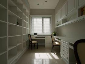 时尚白色现代风格书房装潢
