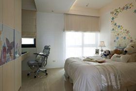 浪漫白色欧式风格卧室效果装修图