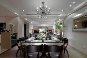 黑色简欧风格靓丽餐厅欣赏
