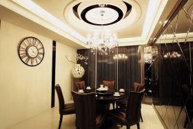 欧式风格米色奢华餐厅图片欣赏