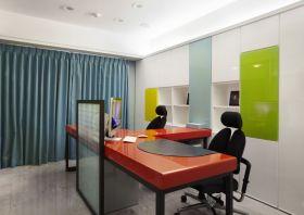 彩色简约风格书房装修图片