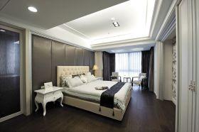 简欧风格灰色卧室美图