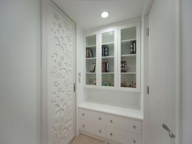 白色雅致创意新古典风格收纳柜效果图赏析