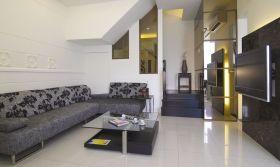 灰色客厅沙发软装赏析