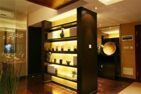 中式风格雅致收纳展示柜美图赏析