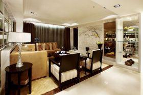 现代风格时尚黄色客厅装修效果图片