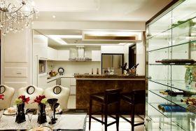精致时尚米色现代风格吧台装潢