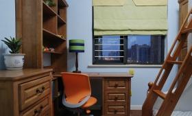 米色质朴新古典风格书房装潢设计