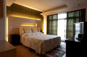 东南亚风格米色卧室效果图设计