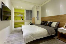 白色宜家风格卧室设计图片欣赏