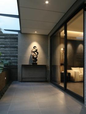 中式阳台装潢设计