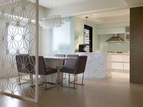 简约风格米色休闲餐厅装饰设计图片