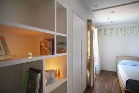白色简约风格卧室收纳设计赏析