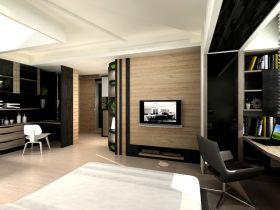 现代时尚黑色摩登背景墙设计图