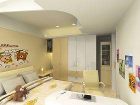 现代风格黄色儿童房设计赏析