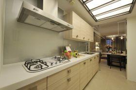 简约风格白色厨房装饰效果美图