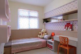 粉色宜家风格儿童房装修效果图