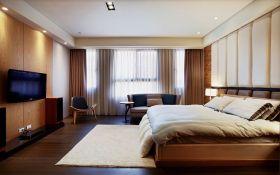 现代风格温馨黄色卧室美图赏析