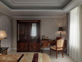雅致沉稳大气欧式复古书房装饰案例
