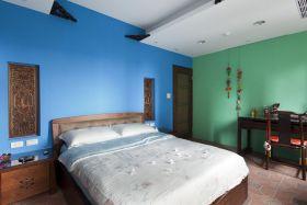 中式混搭雅致多彩卧室装潢设计