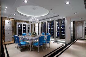 精致优雅新古典风格餐厅图片