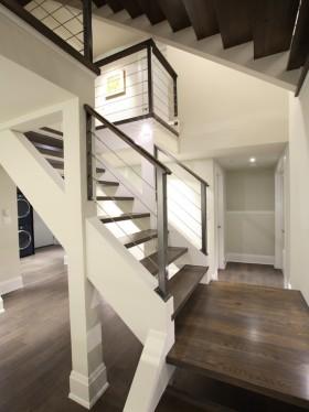 自然清爽简约风格楼梯设计案例