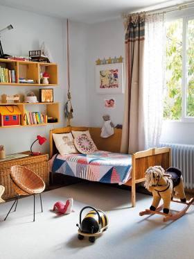 创意混搭多彩儿童房图片赏析