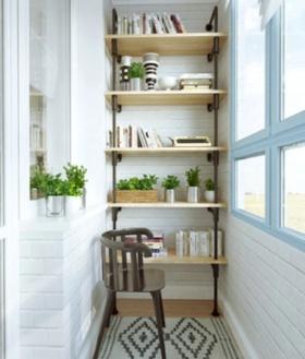 白色混搭阳台设计装潢