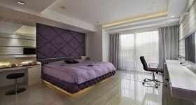 紫色混搭卧室装修