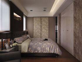 灰色休闲混搭风格卧室装潢案例