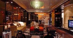 中式风格华丽黄色客厅装修效果图