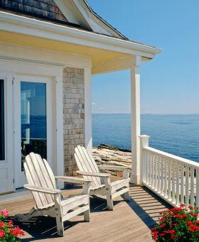 浪漫地中海风格米色阳台装修效果图