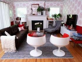 混搭多彩客厅美图欣赏